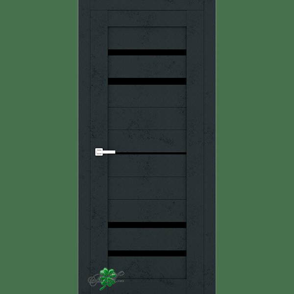 Межкомнатная дверь DX Темный бетон 304
