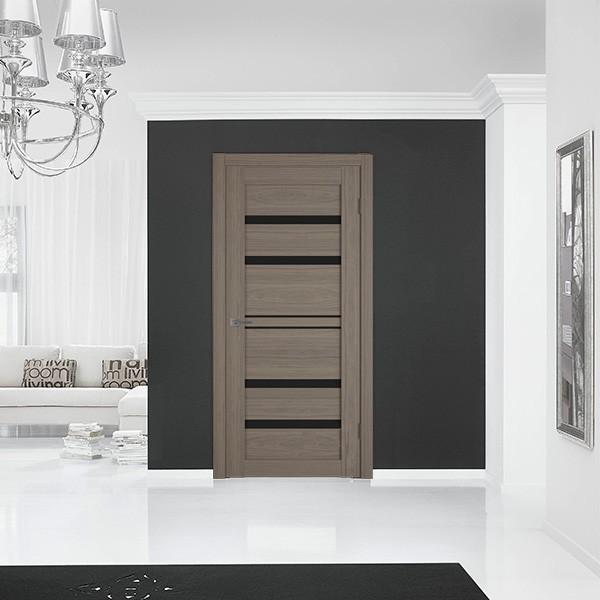 Межкомнатная дверь ATUM PRO 26 Black Gloss