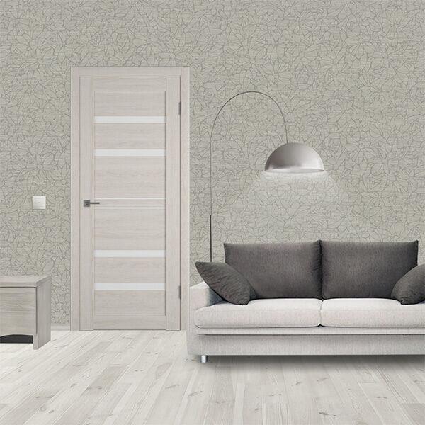 Межкомнатная дверь ATUM PRO 26 White Cloud