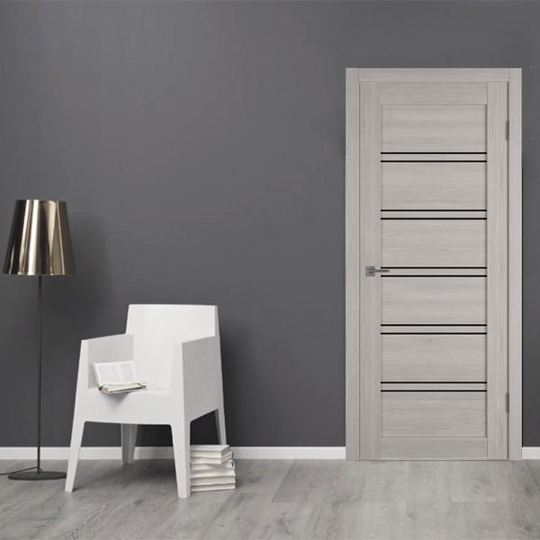 Межкомнатная дверь ATUM PRO 28 Black Gloss