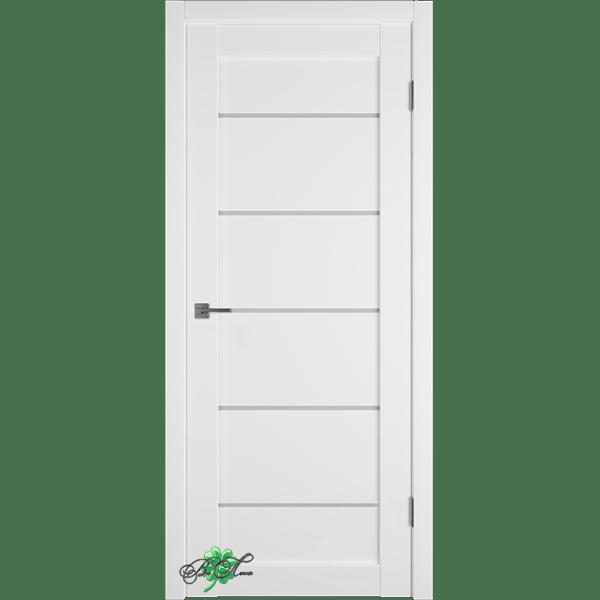 Межкомнатная дверь EMALEX-27 White Cloud