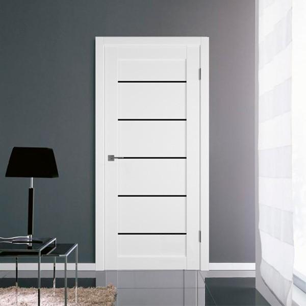 Межкомнатная дверь EMALEX 27-Black Gloss