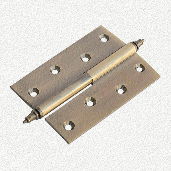 Петля MORELLI латунная с короной-MB-100X70X3-AB
