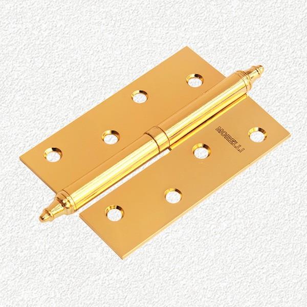 Петля MORELLI стальная с короной-MS-100X70X2.5-PG